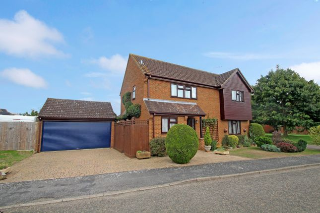 Thumbnail Detached house for sale in Shakespeare Road, Stowmarket
