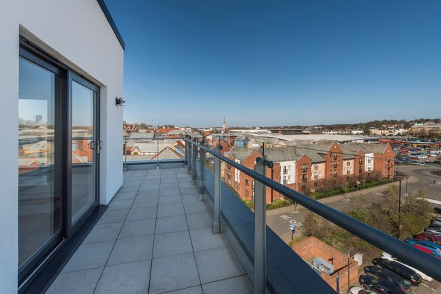 Thumbnail Flat for sale in 62 Bridgemaster Court, Wherry Road, Norwich