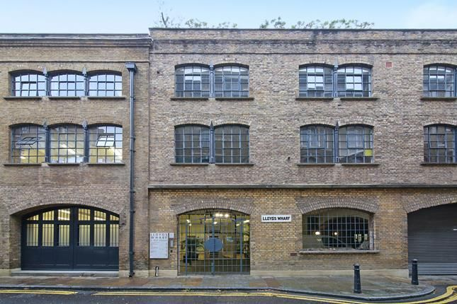 Thumbnail Office to let in Lloyds Wharf, Unit 1, Mill Street, London