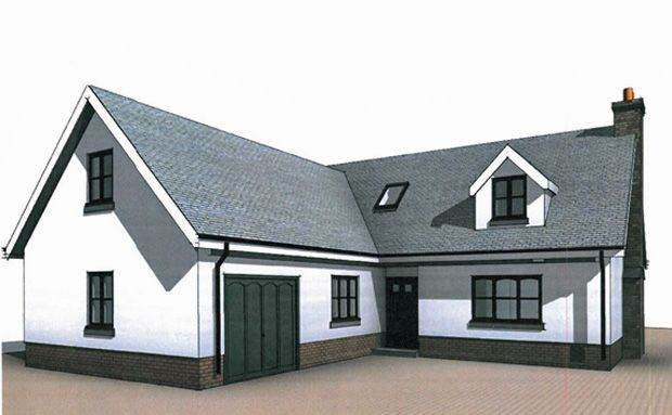 Thumbnail Detached house for sale in Heol Meinciau Mawr, Meinciau, Kidwelly, Carmarthenshire