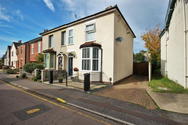 Thumbnail Semi-detached house for sale in Meyrick Crescent, Colchester, Essex