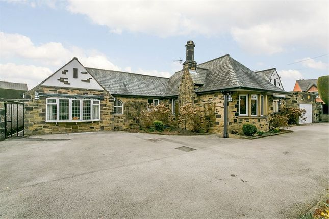 Thumbnail Detached bungalow for sale in Church Street, Ossett, West Yorkshire