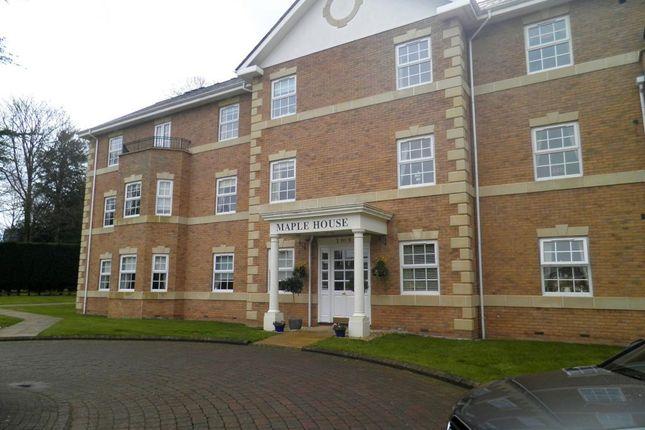 Thumbnail Flat to rent in Little Aston Hall Drive, Little Aston, Sutton Coldfield