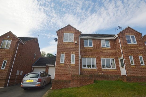 Thumbnail Semi-detached house to rent in Birley Spa Close, Hackenthorpe, Sheffield