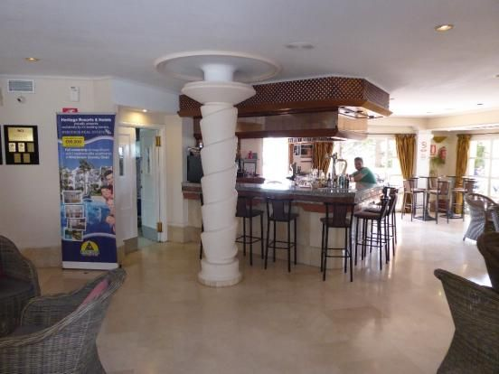 Clubhouse Bar of Mijas Costa, Costa Del Sol, Andalusia, Spain