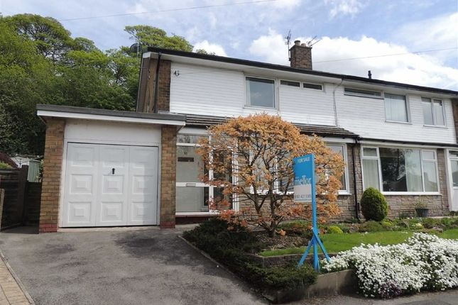 Thumbnail Semi-detached house to rent in Ridge Crescent, Marple, Stockport