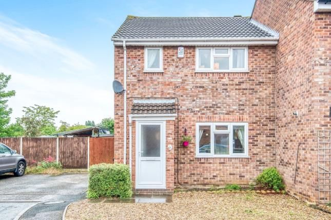 Thumbnail Semi-detached house for sale in Forest Gate, Evesham, Worcestershire