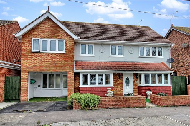 Thumbnail Detached house for sale in Beveland Road, Canvey Island, Essex