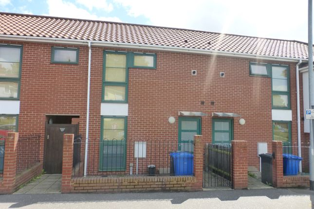 Thumbnail Town house for sale in Catton Grove Road, Norwich