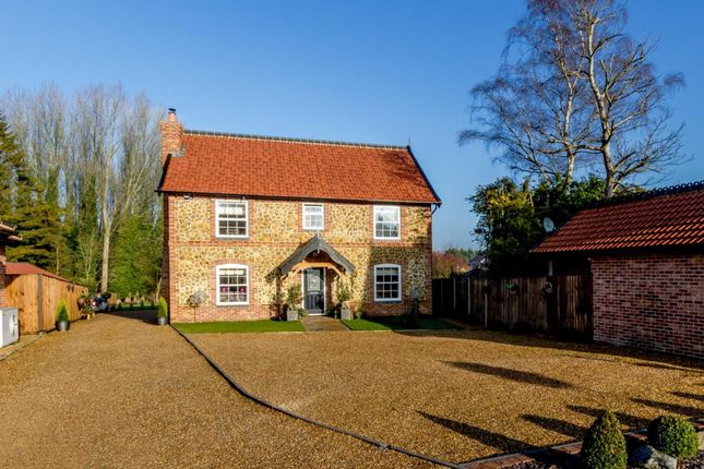 Thumbnail Detached house for sale in Southview Close, Watton, Thetford