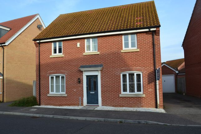 Thumbnail Detached house to rent in Bramble Walk, Red Lodge, Bury St Edmunds