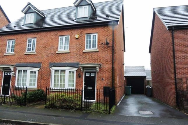 Thumbnail Semi-detached house to rent in Cherry Avenue, Openshaw, Manchester