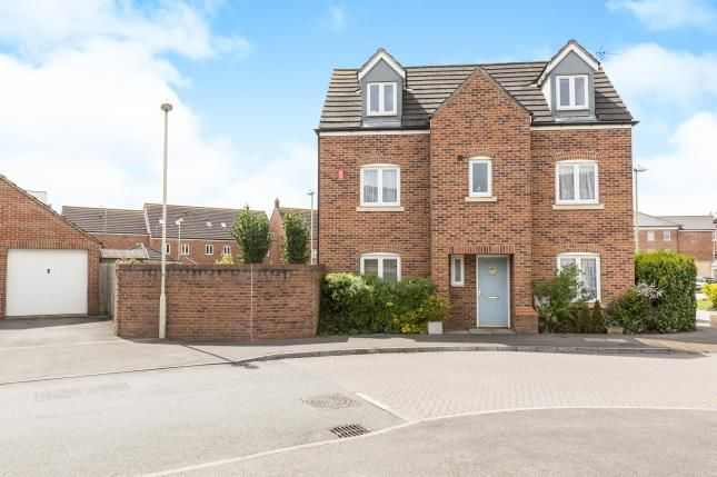 Thumbnail Detached house for sale in Halton Way Kingsway, Quedgeley, Gloucester, Gloucestershire