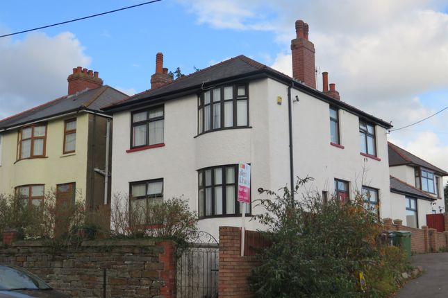Thumbnail Detached house for sale in Wentloog Road, Rumney, Cardiff
