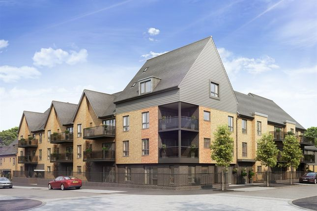 "Thumbnail Flat for sale in ""The Chartwell"" at Repton Avenue, Ashford"