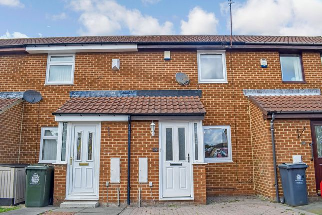 Thumbnail 2 bed terraced house for sale in Amberley Chase, Killingworth, Newcastle Upon Tyne
