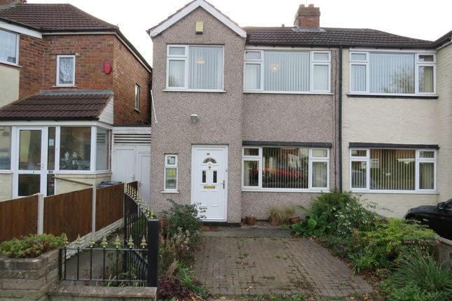Thumbnail Semi-detached house for sale in Goodway Road, Great Barr, Birmingham