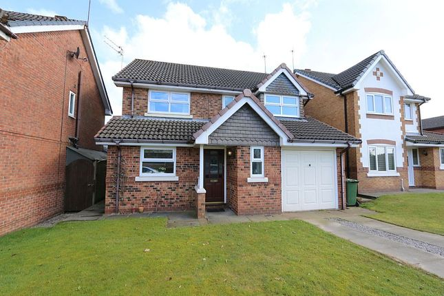 Thumbnail Detached house for sale in Church Meadow, Bury, Greater Manchester