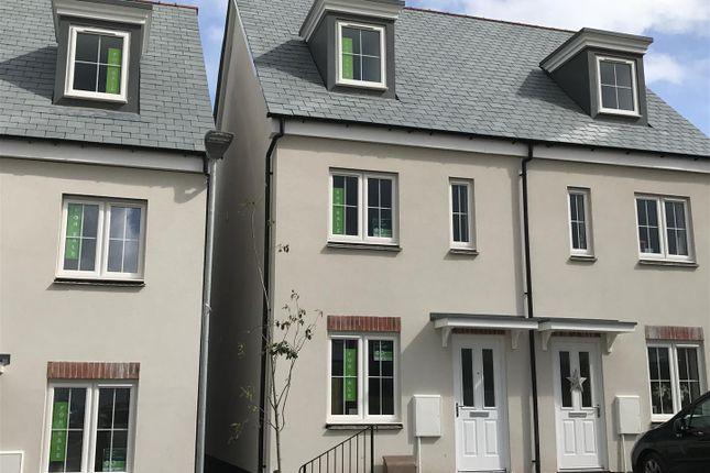 Thumbnail Semi-detached house for sale in Callington Road, Liskeard