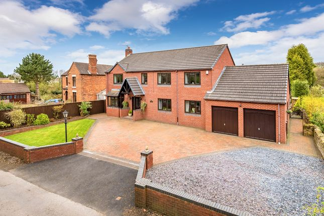 Thumbnail Detached house for sale in Horton, Telford, Shropshire