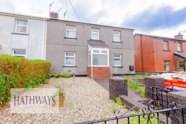 Thumbnail Semi-detached house for sale in Brynwern, Pontypool