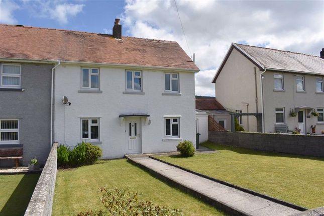 3 bed semi-detached house for sale in Bro Rhydybont, Rhydybont, Llanybydder SA40