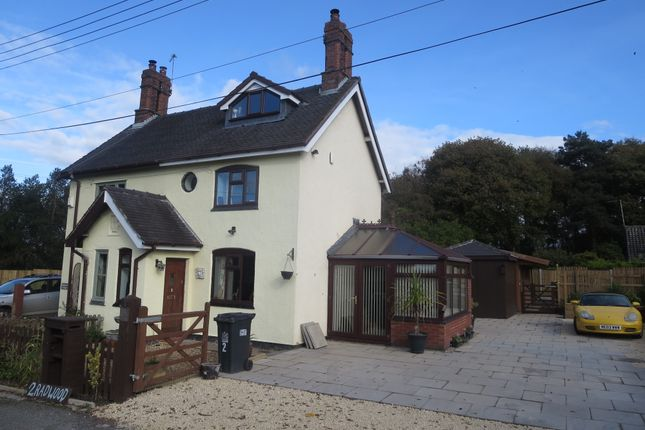 Thumbnail Semi-detached house for sale in Radwood Cottage, Manor Road, Madeley, Cheshire