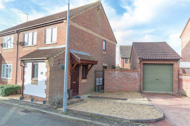 Thumbnail Semi-detached house for sale in Paddock Close, Fakenham