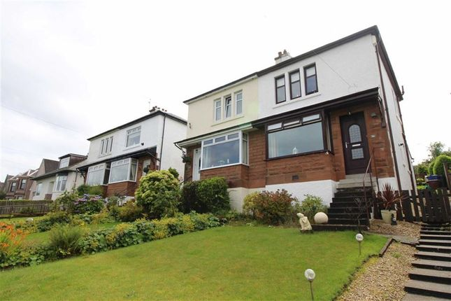 Thumbnail Semi-detached house for sale in Reservoir Road, Gourock, Renfrewshire