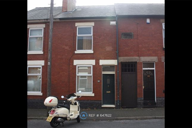 Thumbnail 2 bed terraced house to rent in Spring Street, Derby