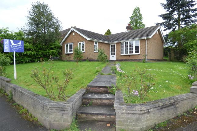 Thumbnail Detached bungalow to rent in Green Lane, Ockbrook, Derby