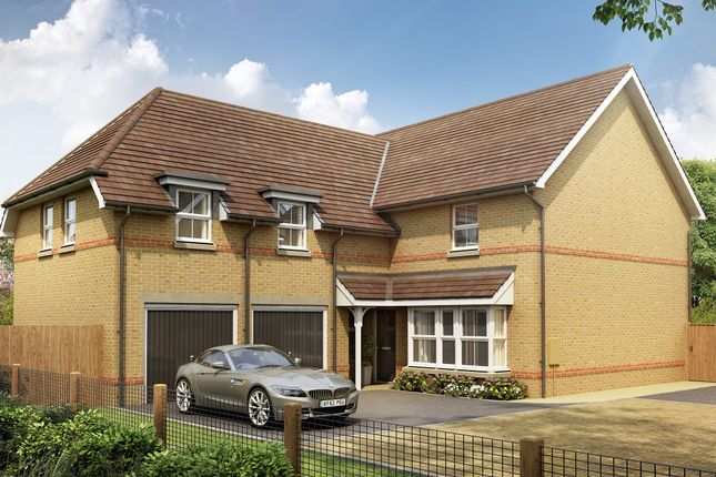 "Thumbnail Detached house for sale in ""Rothbury"" at Pedersen Way, Northstowe, Cambridge"
