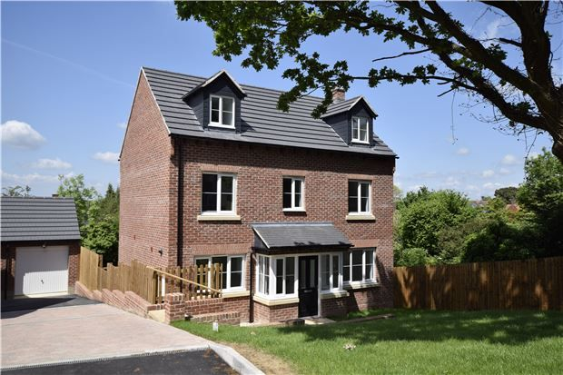 Thumbnail Detached house for sale in Plot 7, Robinswood Hill Farm, Reservoir Road, Gloucester