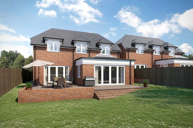Thumbnail Detached house for sale in Stag Hill, Chilton Foliat