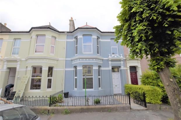 Thumbnail Terraced house for sale in Salisbury Road, Plymouth, Devon