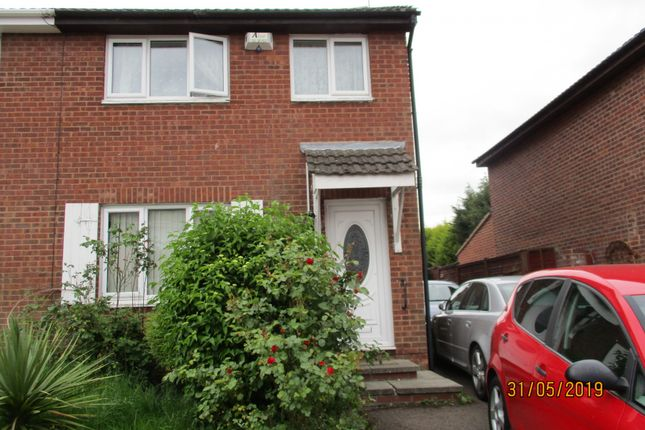 Thumbnail Semi-detached house for sale in Castle Fields, Leicester, Leicestershire