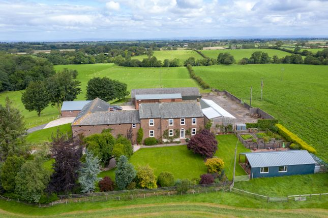 Thumbnail Farmhouse for sale in Wigton, Cumbria