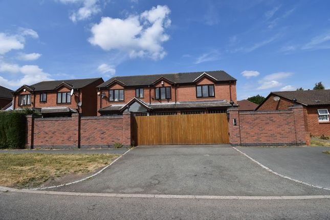 Thumbnail Detached house for sale in 44 Snedshill Way, St Georges, Telford