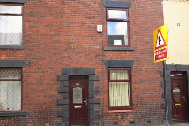 Thumbnail Terraced house for sale in Rochdale Road, High Crompton, Shaw