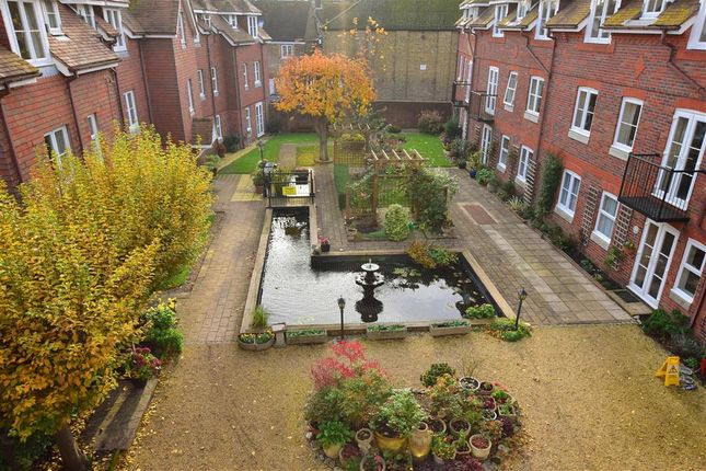 Communal Gardens of Middle Row, Faversham, Kent ME13
