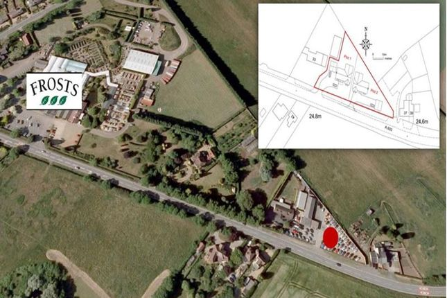 Thumbnail Land for sale in Land At 35 Sandy Road, 35 Sandy Road, Willington, Bedford, Bedfordshire