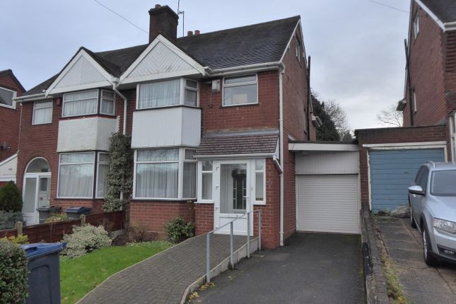Thumbnail Semi-detached house for sale in Bell Hill, Northfield, Birmingham