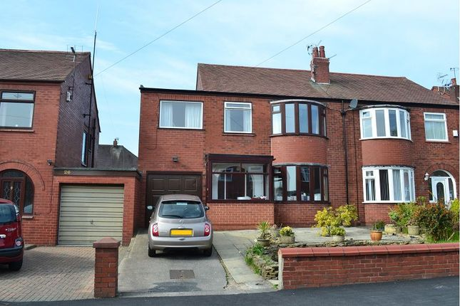 Thumbnail Semi-detached house for sale in Norbreck Crescent, Springfield, Wigan