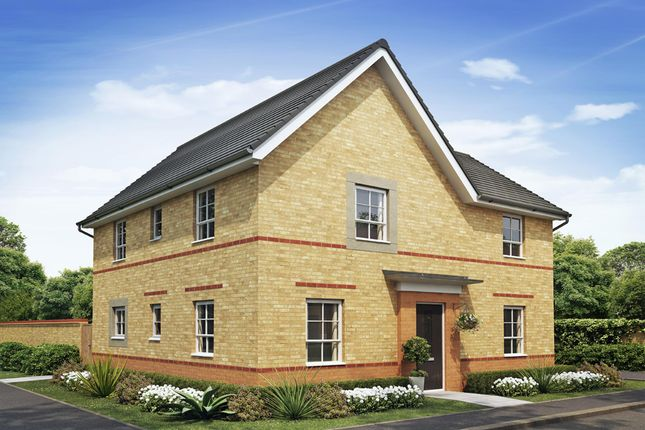 "Thumbnail Detached house for sale in ""Alderney"" at Heol Pentre Bach, Gorseinon, Swansea"