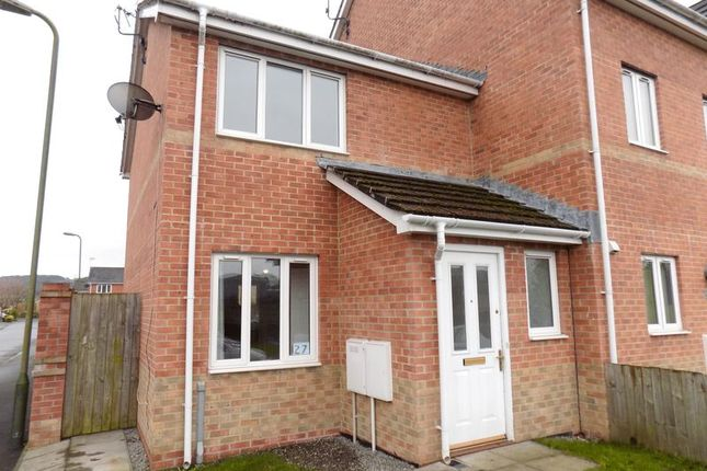 Thumbnail Semi-detached house to rent in Half Acre Court, Caerphilly