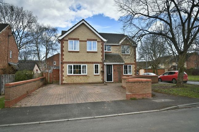 Thumbnail Detached house for sale in Embry Close, Calne