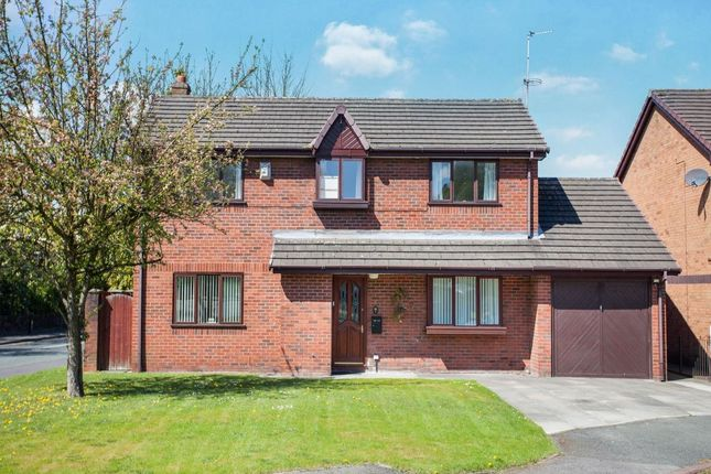 Thumbnail Detached house for sale in Old School Place, Ashton-In-Makerfield, Wigan