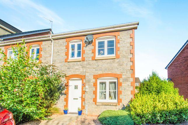 Thumbnail Semi-detached house for sale in Heol Gruffydd, Rhydyfelin, Pontypridd