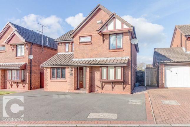 Thumbnail Detached house to rent in Darby Close, Little Neston, Cheshire