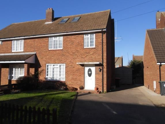 Thumbnail Semi-detached house for sale in Wellington Road, Shortstown, Bedford, Bedfordshire